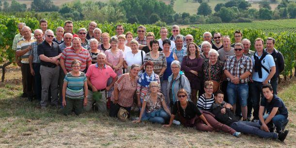 Voyage Comité des Fêtes : Photo de groupe